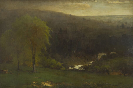 George Inness, 'Ramapo Hills', ca. 1875-1877