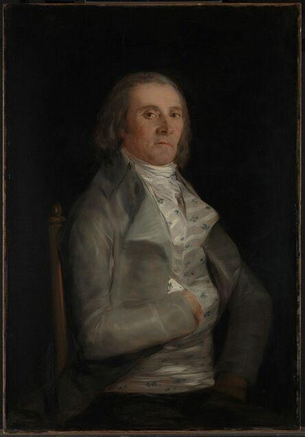 Francisco de Goya, 'Don Andres del Peral', before 1798