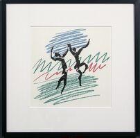 Pablo Picasso, 'Dancing Figures, Picasso', 1956