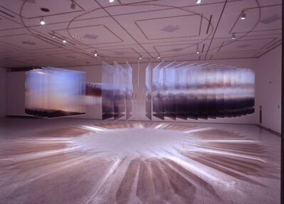 Nobuhiro Nakanishi, 'Layer Drawing - the Tactual Sky', 2013