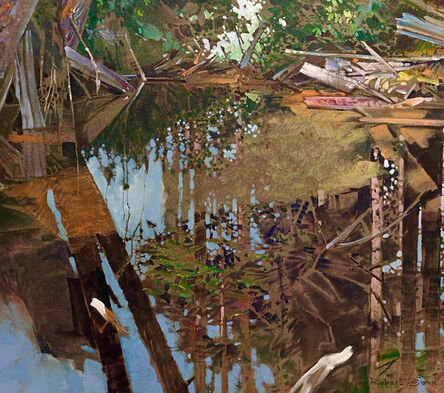 Robert Genn, 'Pond on the Yakoun - QCI ', 1990-2000
