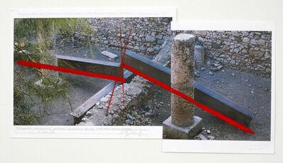 Cris Gianakos, 'Olympic Gridlock, Athens Olympics 2004, Site/Roman Cistern, 9.20.2004', 2004