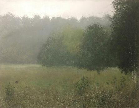 Benoît Trimborn, 'Lapins dans la brume', 2018