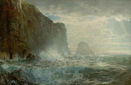 William Trost Richards, 'Grand Manan Island', 1899