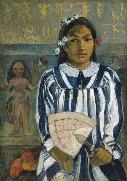 Paul Gauguin, 'Merahi Metua No Tehamana (Tehamana Has Many Parents, or, The Ancestors of Tehamana)', 1893