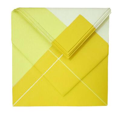 """Luciano Figueiredo, '""""Amarelo em suspensão""""', 2016"""