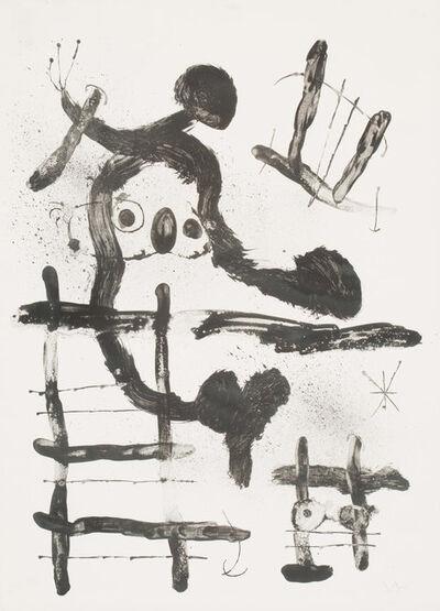 Joan Miró, 'El Pajaro Honda', 1965