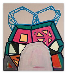 Ashlynn Browning, 'Broken Bridge (Abstract painting)', 2016