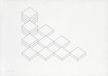Peter Lowe, 'Drawing: Volume & Void', 1981