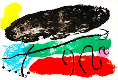 Joan Miró, 'L'Astre Patagon', 1961