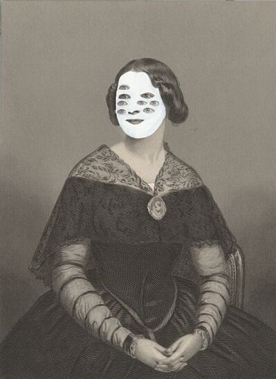 Kirsten Stolle, 'Mrs. Edgar Cahill 1860/2014 from the series de-identified', 2014