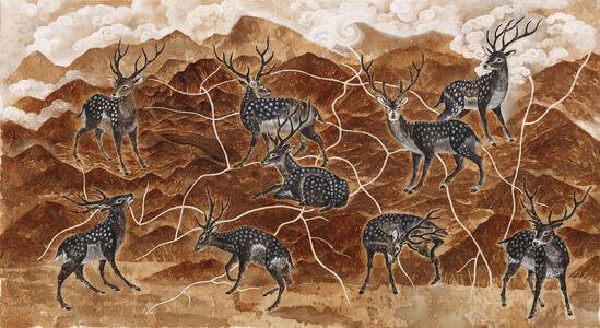 Wenzhi Zhang 张文智, 'Song of The Deer Gods 鹿神歌', 2020