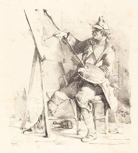 Nicolas-Toussaint Charlet, 'The Sign Painter (Le Peintre d'Enseignes)'
