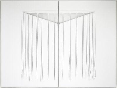 Kazu Nakagawa, ''vessel - curtain' work #12 diptych', 2018