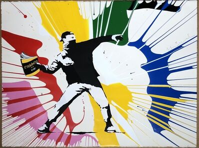 Mr. Brainwash, 'Banksy thrower', 2020