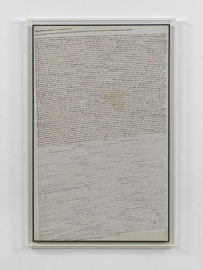 Ian Breakwell, 'Description of a Picture', 1968