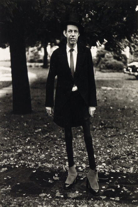Diane Arbus, 'A very thin man in Central Park, N.Y.C.', 1961