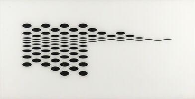 Bridget Riley, 'Untitled (Fragment 7) (Schubert 5g)', 1965