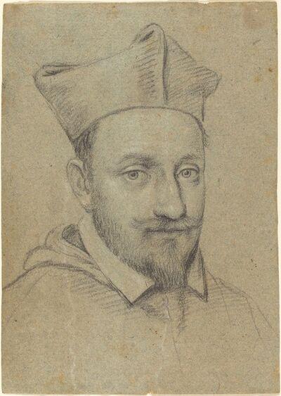 Ottavio Leoni, 'Portrait Head of a Cardinal'