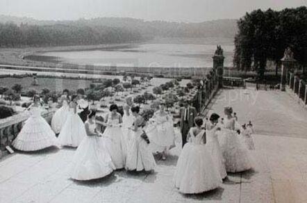Loomis Dean, 'Gathering for Morning Rehearsal, American Debutante Ball', 1958