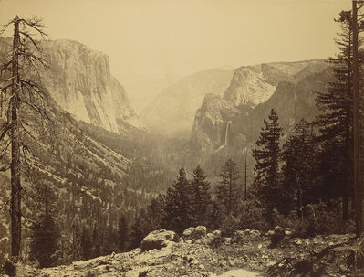 Carleton E. Watkins, 'The Yosemite Valley from Inspiration Pt. Mariposa Trail / General View of the Valley - from Inspiration Point', 1865-1866