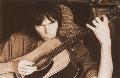 Graham Nash, 'Neil Young Too 69', 1991