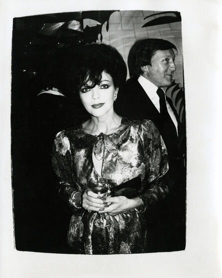 Andy Warhol, 'Joan Collins at the Factory', ca. 1986