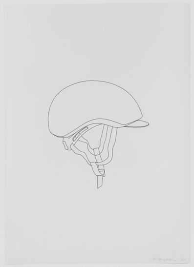 Michael Craig-Martin, 'Polo Helmet', 2012
