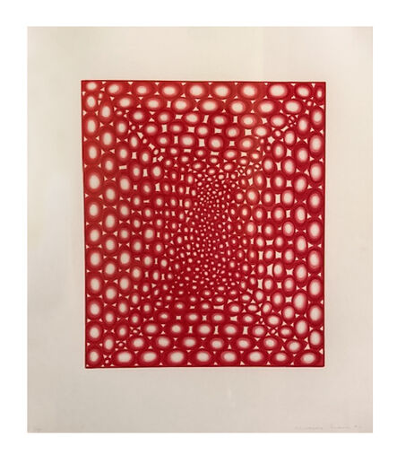 James Siena, 'Battery (Red)', 2002