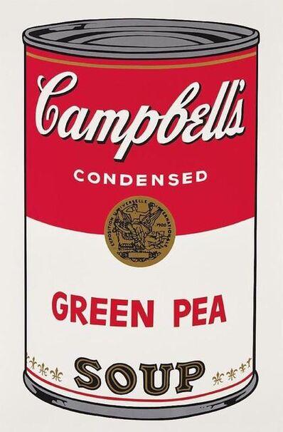 Andy Warhol, 'Green Pea Campbells Soup', 1968