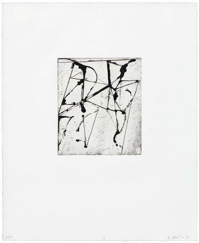 Brice Marden, 'Etchings to Rexroth 10', 45