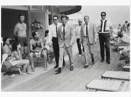 Terry O'Neill, 'Frank Sinatra on Boardwalk', 1968