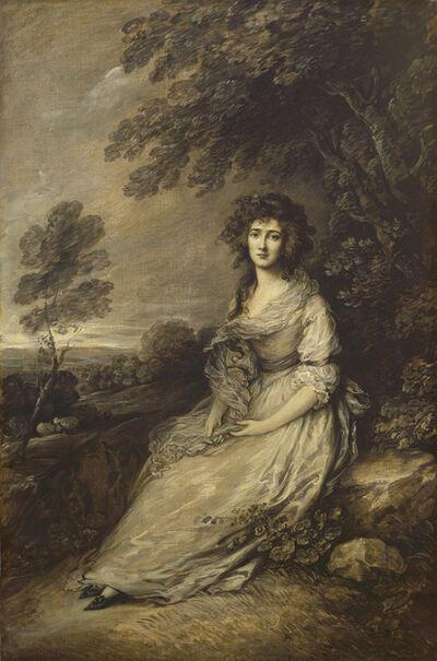 Gainsborough Dupont, 'Mrs. Richard Brinsley Sheridan', 1787/1796