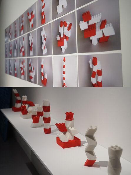 Chang Kyum Kim, 'Twisted Lego', 2014