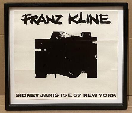Franz Kline, 'Franz Kline Sidney Janis Exhibition Announcement', 1956