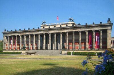 Karl Friedrich Schinkel, 'Altes Museum', 1822-1830