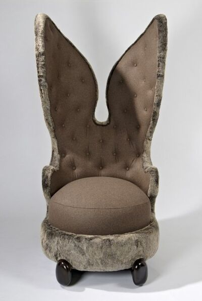 "Hubert Le Gall, '""Placide le lapin câlin"" Chair'"