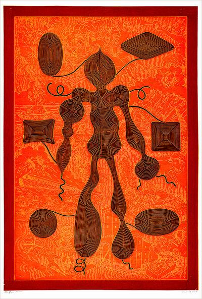 John Buck, 'The Yarn', 2014