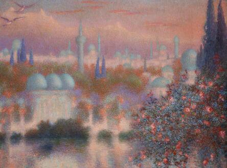 Lucien Lévy-Dhurmer, 'Les roses d'Ispahan', ca. 1910