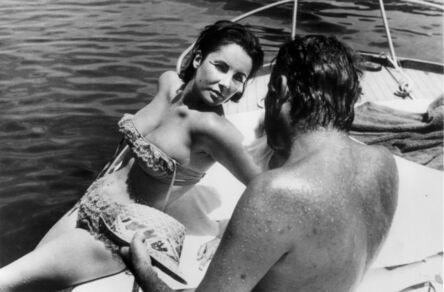 Bert Stern, 'Elizabeth Taylor and Richard Burton, Ischia, Italy ', 1962