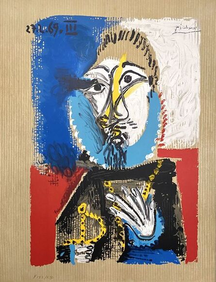 Pablo Picasso, 'Portrait Imaginaires 27.3.69 III', 1969