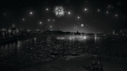 Lee Leenam, 'Gogh - The Starry Night, Arles', 2016