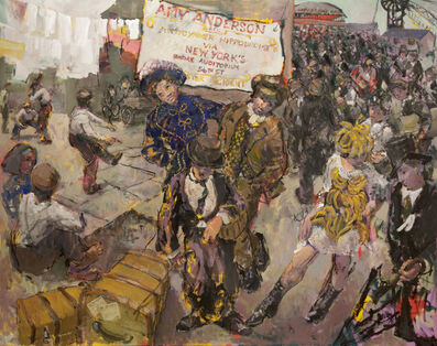 Kevin Sinnott, 'London, New York, Pontycymmer', 2015