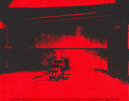 Andy Warhol, 'Little Electric Chair', 1964/5
