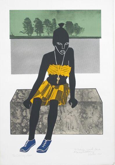 Elizabeth Catlett, 'Latch Key Child', 1988