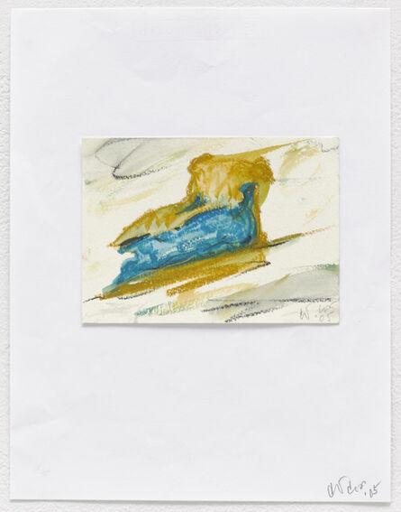 Claes Oldenburg & Coosje van Bruggen, 'Notebook Page: Blueberry Pie', 2005