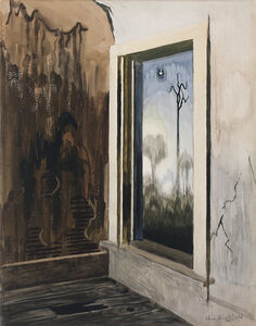 Charles Ephraim Burchfield, 'Window of a Deserted House', 1917