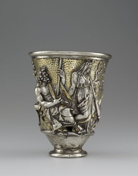 Unknown Artist, 'Beaker with Imagery Related to Isthmia and Corinth', 1-100