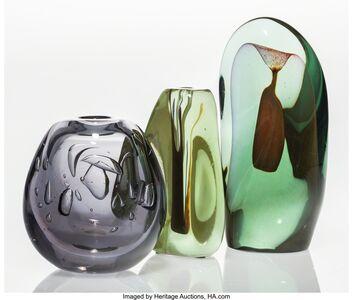 Dominick Labino, 'Three Early Forms', 1969-1970