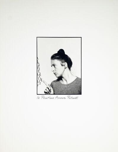 Roberta Allen, '16 Pointless Arrows Retreat', 1976